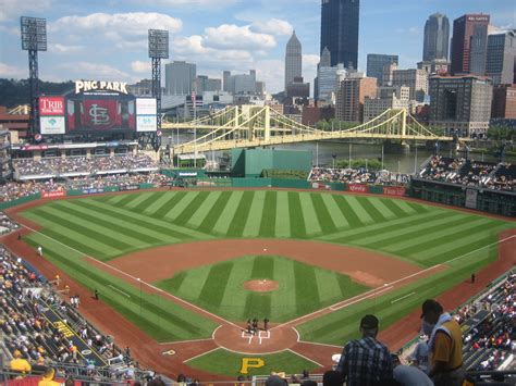Baseball Wall Mural ballpark 11 of 30 pnc park pittsburgh pa 30 on the fly