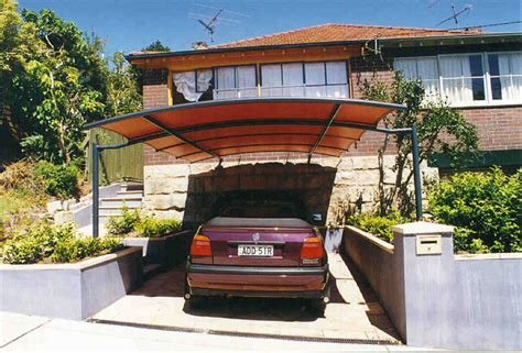 garage awnings carport awnings contemporary garage and shed sydney