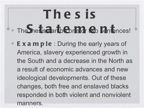 Dbq 5 Slavery And Sectional Attitudes Essay by Thesis Statement About Slavery Illustrationessays Web Fc2