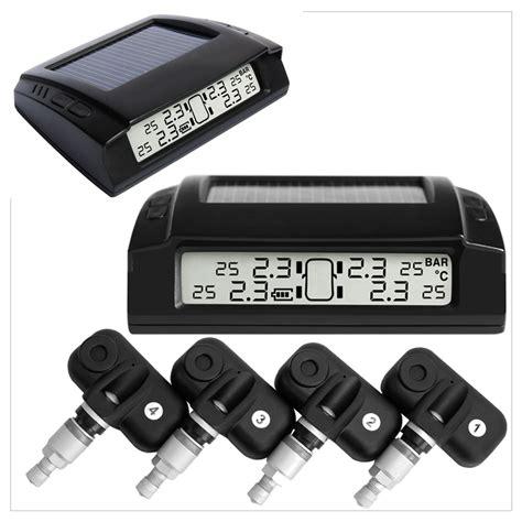 tire pressure monitoring 1999 ford escort security system solar tyre pressure monitoring system lcd tpms 4 internal sensors car 4x4 psi diagnostic tools bar