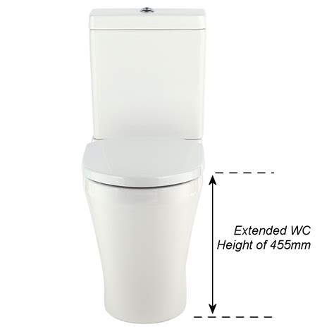comfort toilets uk milano mellow comfort height wc inc cistern fittings