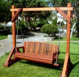 swinging patio bench best 25 bench swing ideas on patio swing set