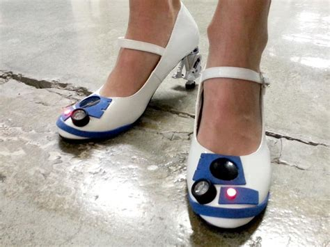 d2 shoes ultimate r2 fans diy wars r2 d2 heels with blinking