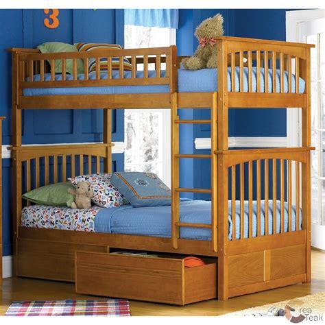 Tempat Tidur Anak Minimalis Modern tempat tidur anak minimalis bertingkat jati createak