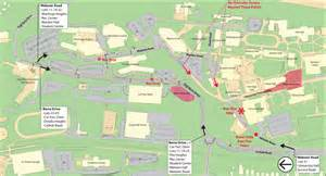 Montclair State University Campus Map by Important Traffic Information For Start Of Fall Semester