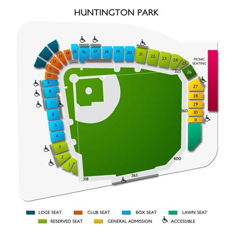 mccoy stadium seating chart huntington park seating chart seats