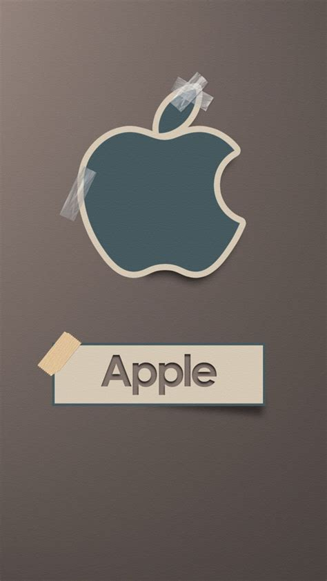 Sticker Apple iphone apple sticker logo kamos sticker