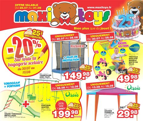 Balancoire Maxi Toys by Catalogue Maxi Toys 28 Juillet 31 Ao 251 T 2014 Catalogue Az