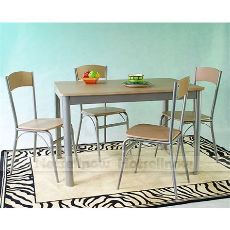Kitchen Table Kits Dining Living Room Kitchen Garden Table Desk Chairs Seats Furniture Set Kits New Ebay