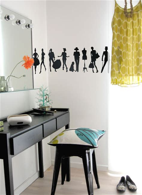 Wall Sticker Siluet Bunga Ay817 sticker dinding vinyl wall stickers interior 63 contoh