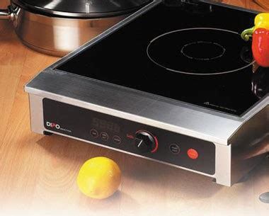 induction cooker dipo eco friendly commercial kitchen through equipment mise en place