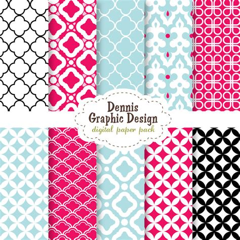Cute Pattern Paper | 8 best images of cute printable patterns cute scrapbook