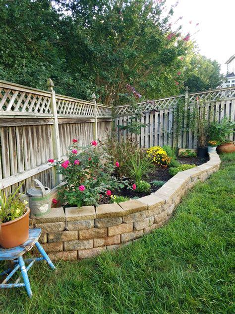 raised garden bed  fence remodelando la casa