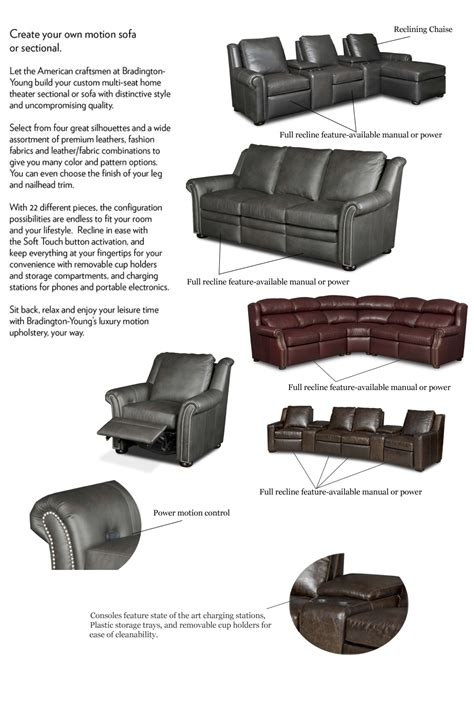 bradington reclining sofa bradington reclining sofa bradington luxury