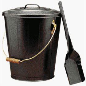 Ash Can For Fireplace fireplace ash can with shovel