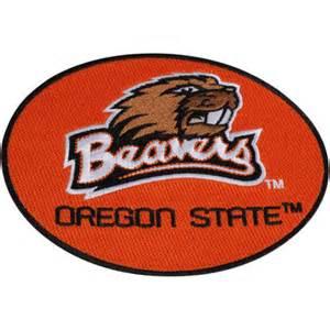 Oregon state beavers big peel amp stick patch fanatics com