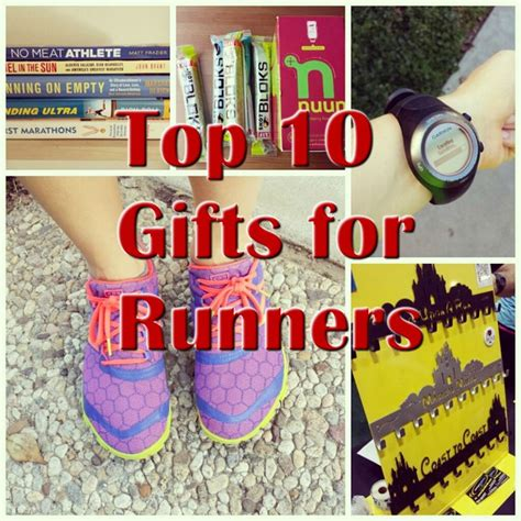 top 10 gifts for runners this season