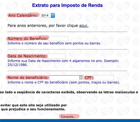 demonstrativo para imposto de renda do inss ano 2015 dataprev rendimentos para imposto de renda new style for