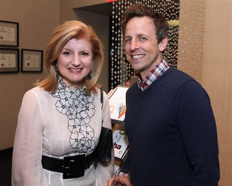 who is arianna huffington dating arianna huffington seth meyers and arianna huffington photos zimbio