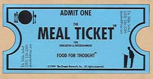 free printable meal tickets 8 best images of lunch ticket template sle meal