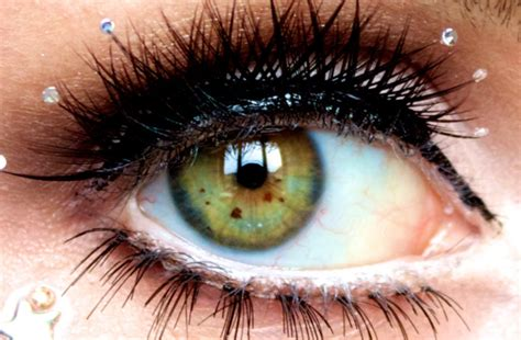 what does my eye color why my quot freckles quot