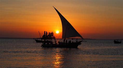 cruises zanzibar dhow sunset cruise zanzibar by zanzibar tours travel