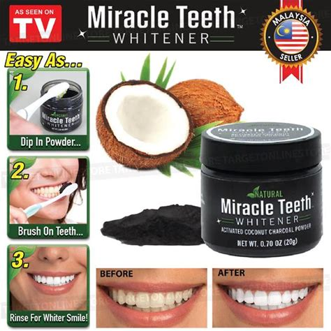 miracle teeth whitener whitening org    pm