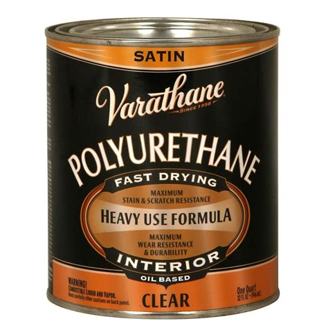 minwax 1 qt polyshades espresso satin stain and polyurethane in 1 step 613970444 the home depot