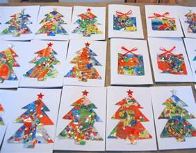 crafts using christmas cards images