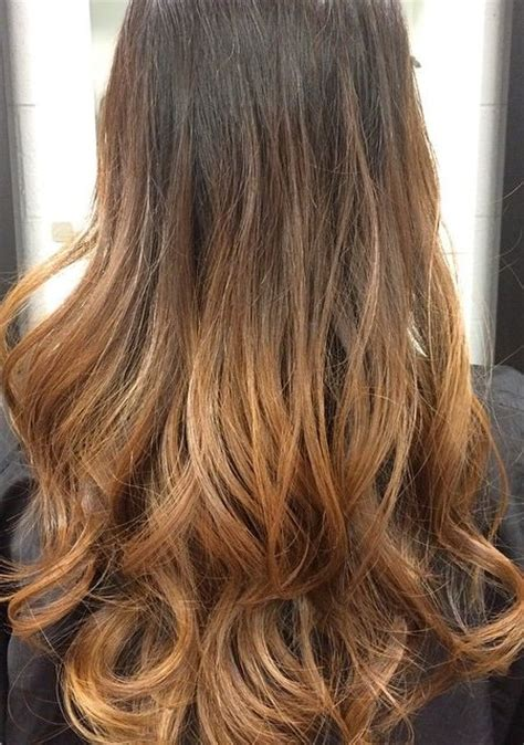 dark brown hair with light brown ombre ombre on light brown hair brown hairs