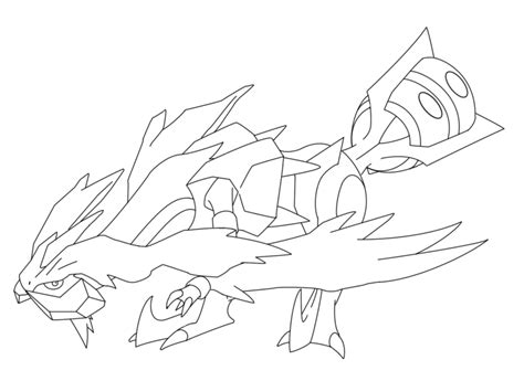 pokemon coloring pages kyurem pokemon kyurem coloring pages sketch coloring page