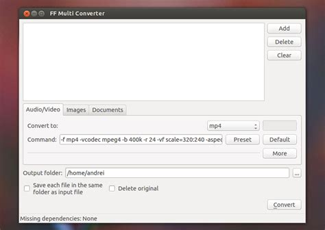 audio format converter ubuntu software recommendation best video converter ask ubuntu