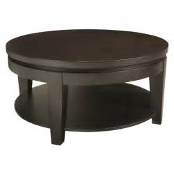 Asia round coffee table with shelf buy wooden coffee tables