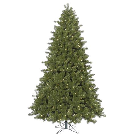 10 foot ontario spruce christmas tree all lit lights a138686