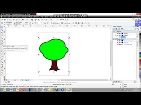 membuat outline gambar di corel tutorial membuat gambar menggunakan template di coreldraw