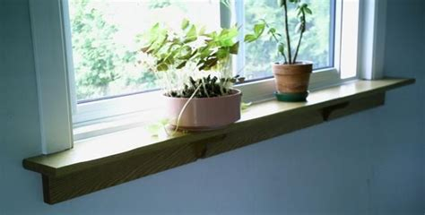 Inside Window Sill Plant Shelf Windowsill Shelf Interior Design Band Room