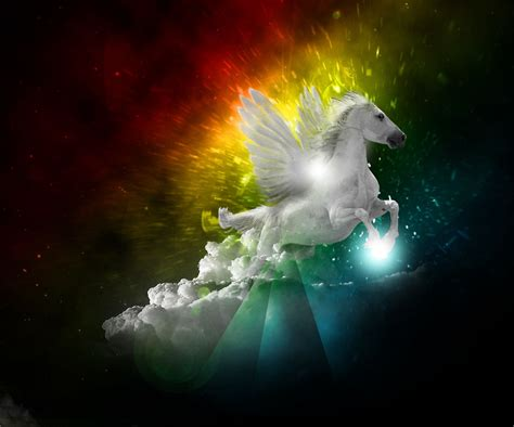 imagenes de unicornios reales con alas very sweet and cute animals im 225 genes de pegasos y