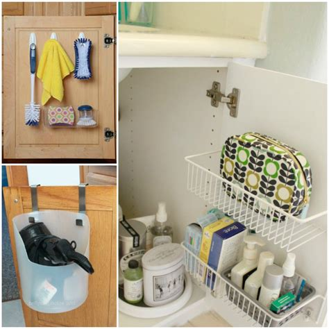 15 ways to organize the bathroom sink