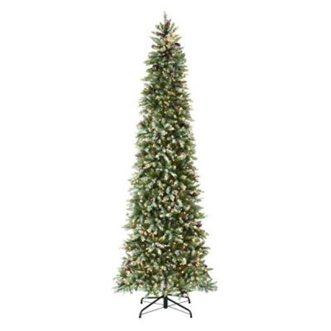 martha stewart living 9 ft indoor pre lit dunhill fir