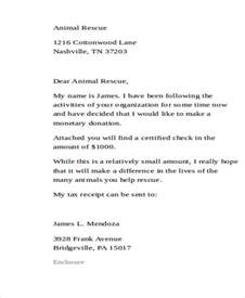 giving donation letter template sle donation letter
