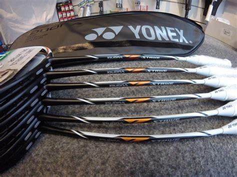 Raket Duora Z Strike review yonex duora z strike badminton racket by