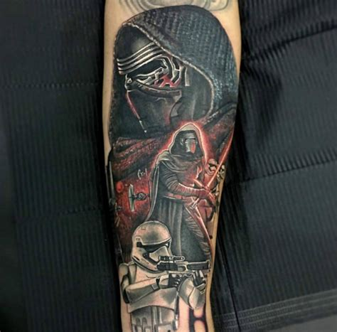 star wars tattoos designs ideas and meaning tattoos for you