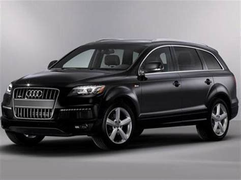 blue book used cars values 2008 audi q7 regenerative braking 2014 audi q7 pricing ratings reviews kelley blue book