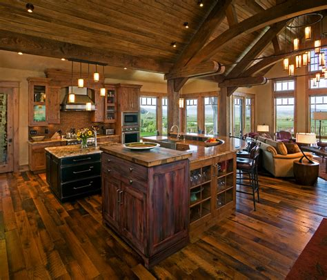rustic living room kitchen open floor plans shabby chic rustic living room rustic open floor rustic vaulted ceiling house plans