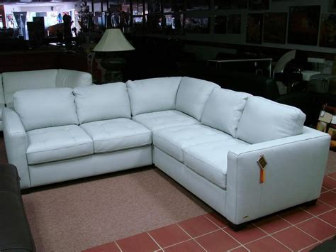 Light Blue Leather Sectional Sofa 20 Collection Of Blue Leather Sectional Sofas Sofa Ideas