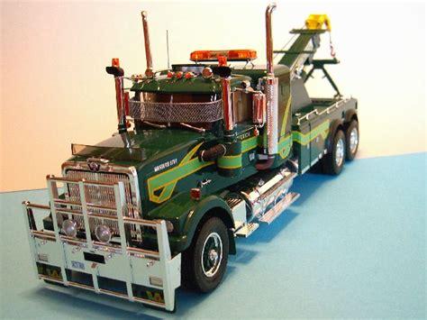 model trucks australia australian western star wrecker model trucks pinterest