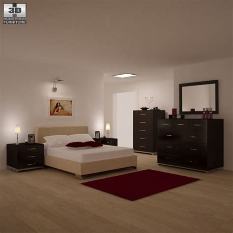 3d bedroom sets bedroom furniture 26 set 3d model hum3d