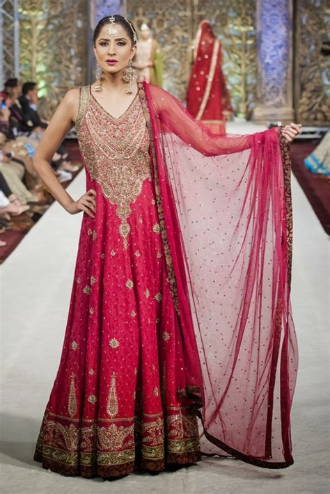 Dress Asia fashion world fashion dress designer zaheer abbas bridal collection at weddings of asia