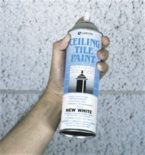 Ceiling Tile Spray Paint by Lawson Ceiling Tile Paint New White 96214