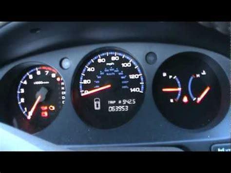 acura dashboard lights 2005 acura mdx dash view cold start